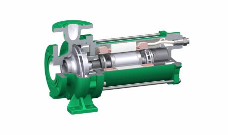 Pompe centrifuge à rotor noyé CN/P/K/F/H - Chimie, réfrigération, énergie, oil & gas