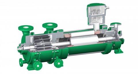 Pompe LVPH Exécution avec rotor noyé - Chimie, Oil & gas, énergie