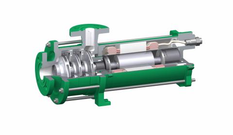 Liquides Frigorigènes (ammoniaque, Co2, etc.) - Solution HERMETIC : pompe à rotor noyé