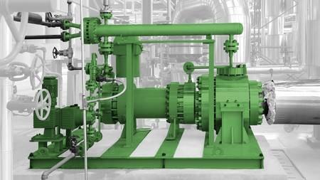 Liquides chargés - Solutions HERMETIC : Pompe à rotor noyé