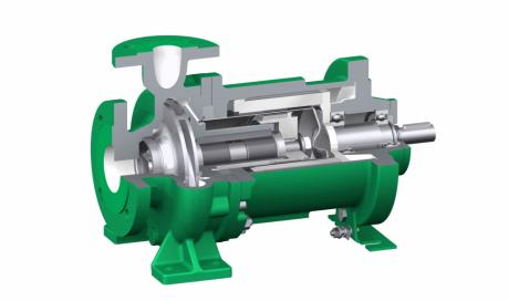 Pompe à entrainement magnétique MCN/K/F - Chimie, Oil & gas, énergie.